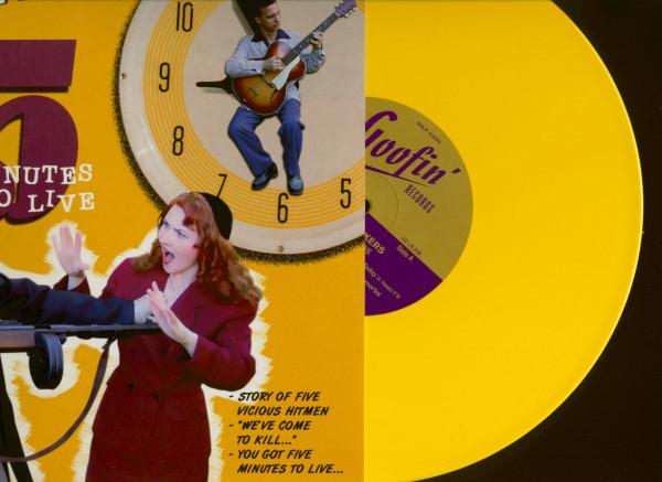 Five Minutes To Live (LP, 10inch, Ltd.,Yellow Vinyl, RSD)