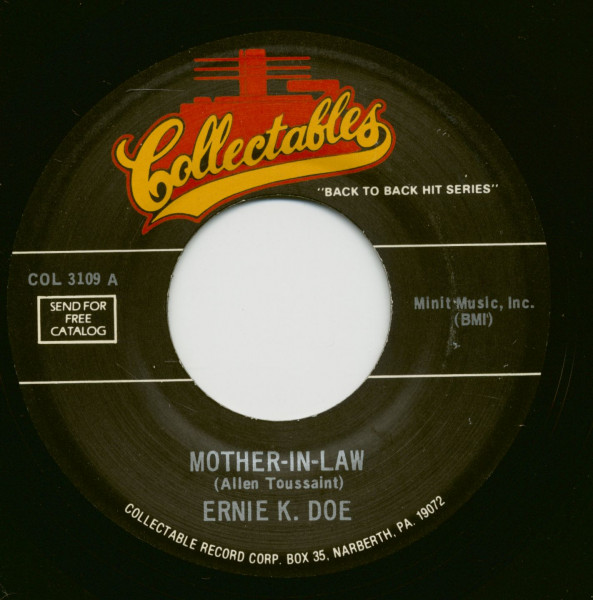 Mother-In-Law - Rockin Little Angel (7inch, 45rpm)