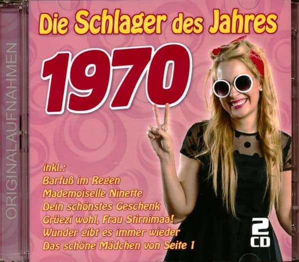 Die Schlager des Jahres 1970 (2-CD)