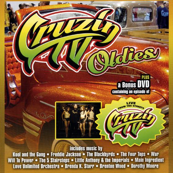 Va Cruzin TV Oldies CD & Bonus DVD