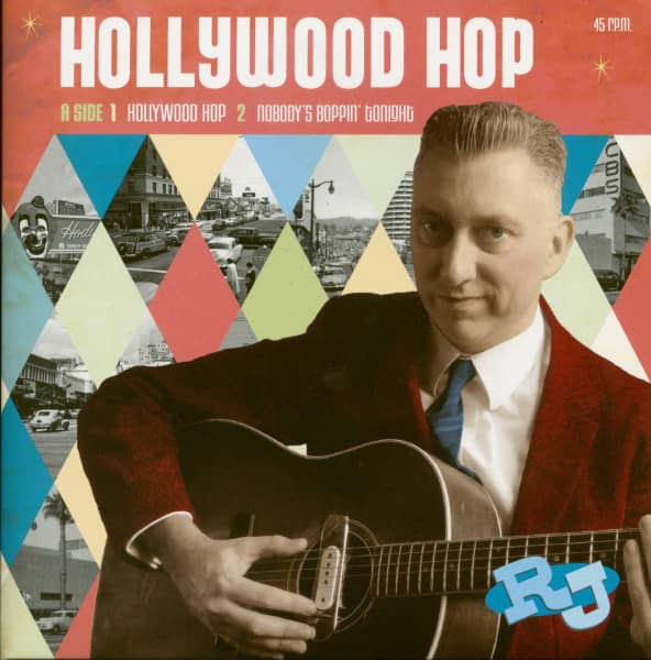 Hollywood Hop (EP, 7inch, 45rpm, PS, SC)
