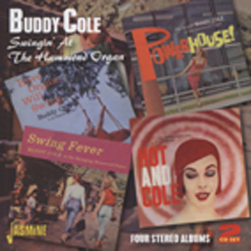 Cole, Buddy Swingin' At The Hammond Organ (2-CD)