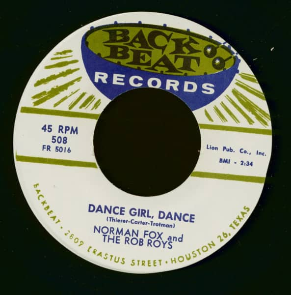 Dance Girl, Dance - My Dearest One (7inch, 45rpm)