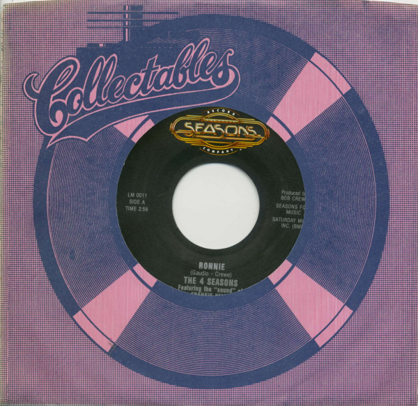 Ronnie - Save It For Me(7inch, 45rpm, BC, CS)