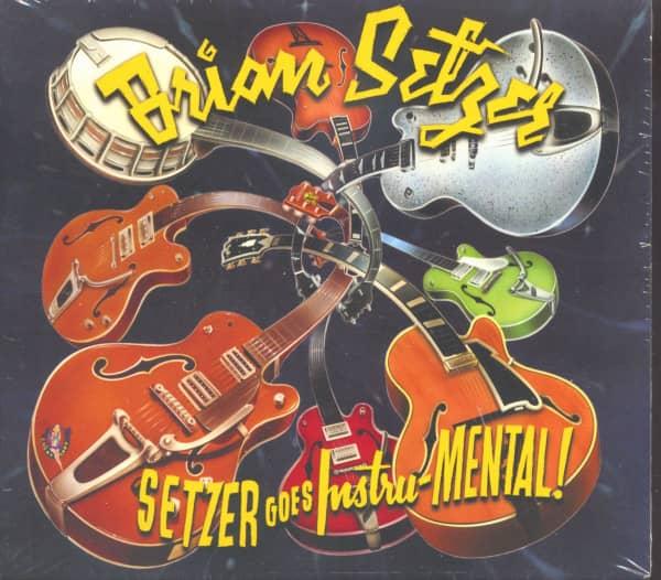 Setzer Goes Instru-MENTAL! (CD, EU Version)