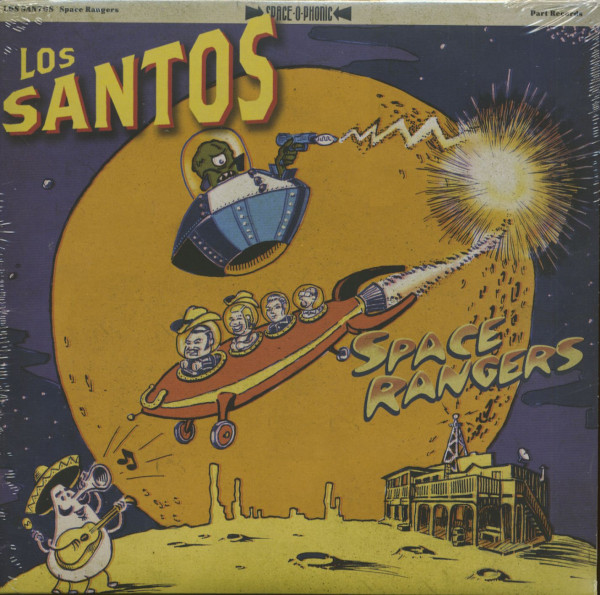 Space Rangers (LP, 10inch)