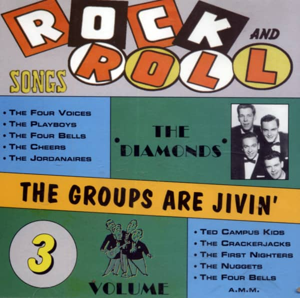 Rock & Roll - Groups Are Jivin' Vol.3