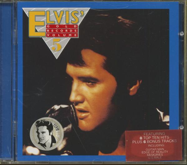 Elvis' Gold Records, Vol.5 - 1997 EU (CD)