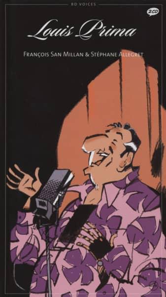 Prima, Louis 1934-1956 2-CD&Comic Collector's Edition