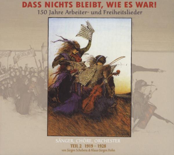 Vol.2, 1919 - 1928 (3-CD) Dass nichts bleibt, wie es war!