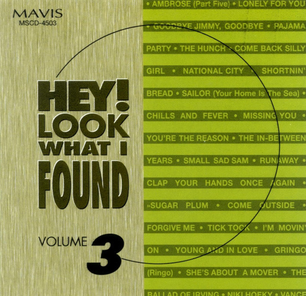 Vol.3, Hey ! Look What I Found