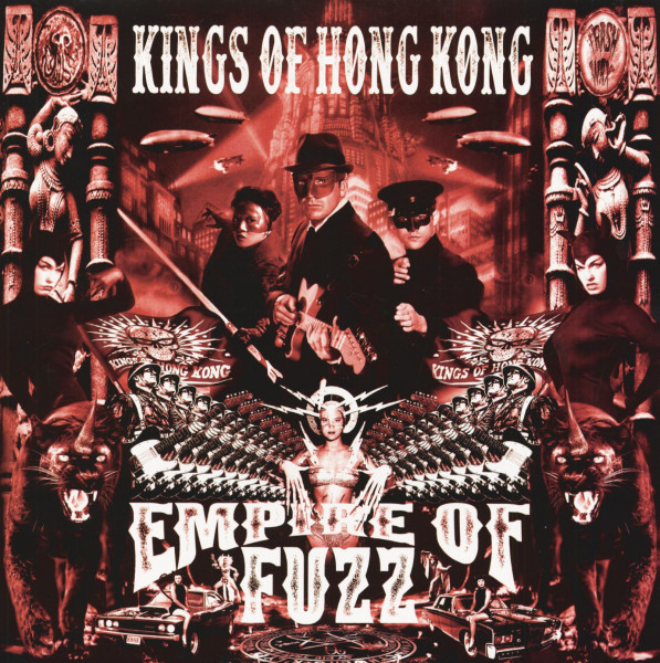 Empire Of Fuzz (LP, Colored Vinyl, Ltd.)