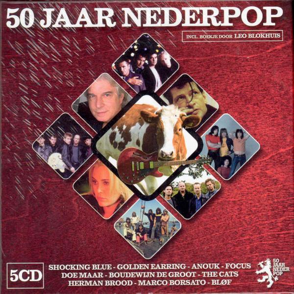 Va 50 Jaar Nederpop - Hits (5-CD Cube Box)