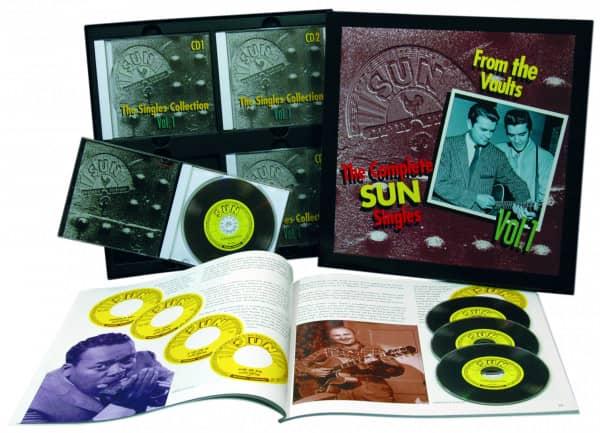 The Sun Singles Vol.1 (4-CD & Buch)