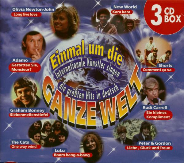 Va Einmal um die ganze Welt - Internationale Künstler singen die größten Hits in deutsch (3-CD)