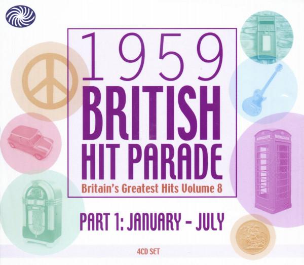 1959 British Hit Parade Vol.1 (4-CD)