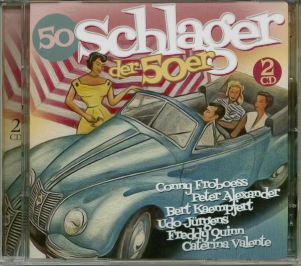 50 Schlager der 50er (2-CD)