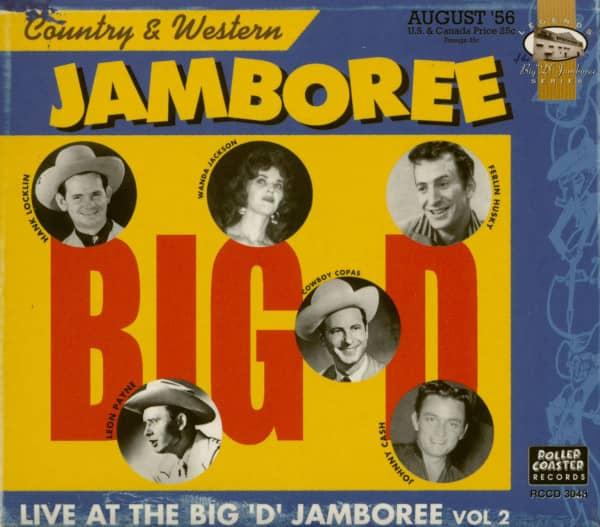 The Big D Jamboree Vol.2 - Live (CD)