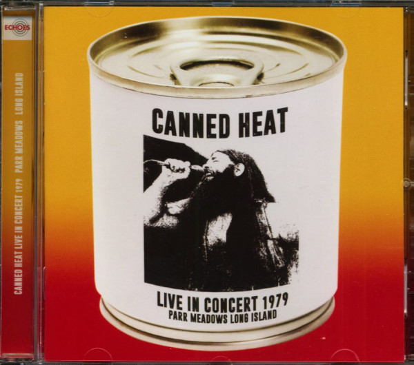 Live In Concert 1979 - Parr Meadows Long Island (CD)