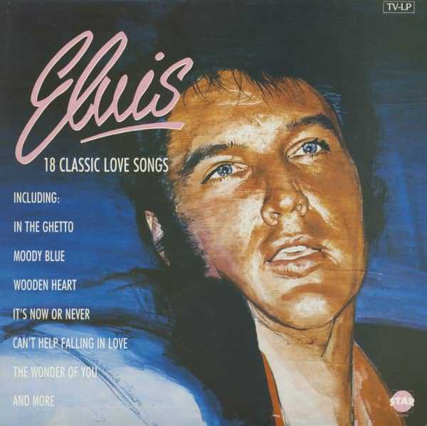 Elvis - 18 Classic Love Songs (LP)