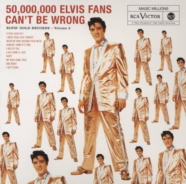 Presley, Elvis Vol.2, Elvis' Gold Records...plus - Digipack
