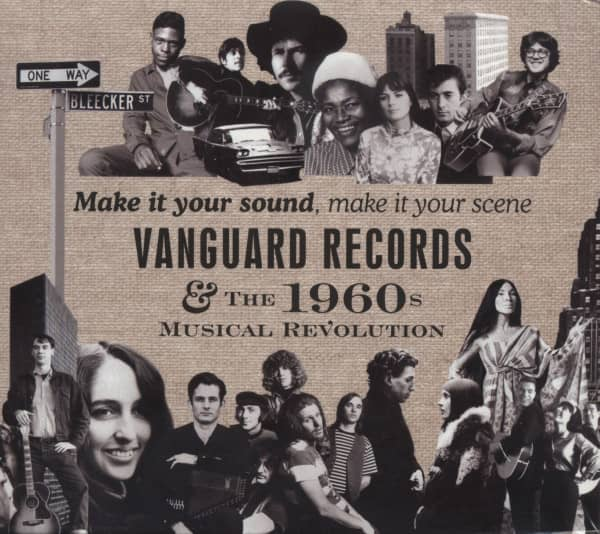Make It Your Sound, Make It Your Scene - Vanguard Records & The 1960s Musical Revolution (4-CD)