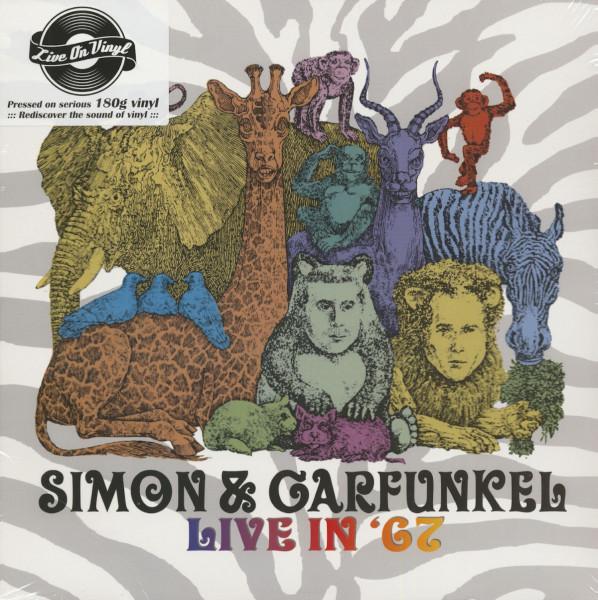 Simon And Garfunkel Live In 67 (LP, 180g Vinyl)
