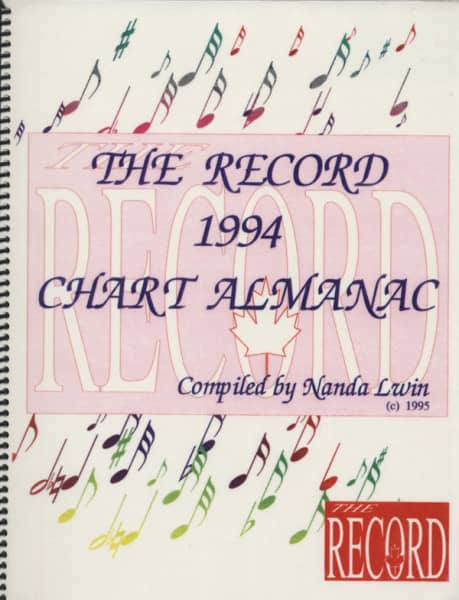 The Record Chart Almanac 1994 - Canadian Charts 1994