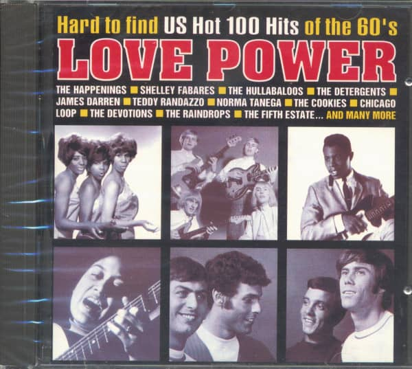Love Power - Hard To Find US Hot 100 Hits Of The 60's (CD)
