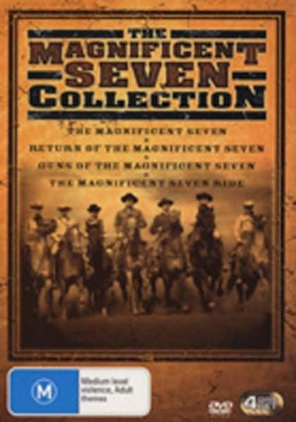 Die glorreichen Sieben - Collection (0) 4-DVD