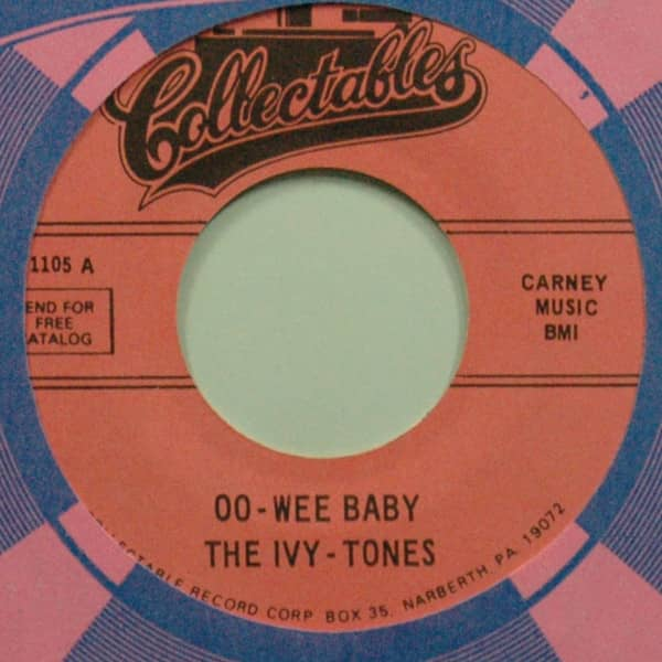 Oo-Wee Baby b-w Each Time 7inch, 45rpm