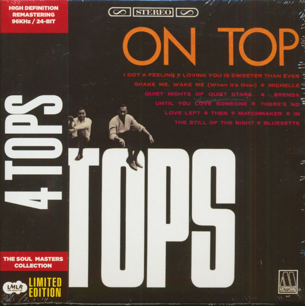 Four Tops On Top (CD, Limited Edition)
