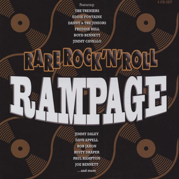 Rare Rock & Roll Rampage (4-CD)