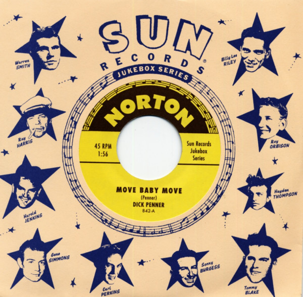 Sun Records Jukebox Series - Dick Penner & Ray Garden (7inch, 45rpm)