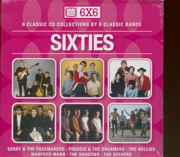 Va Sixties (6-CD Papersleeve Collection)