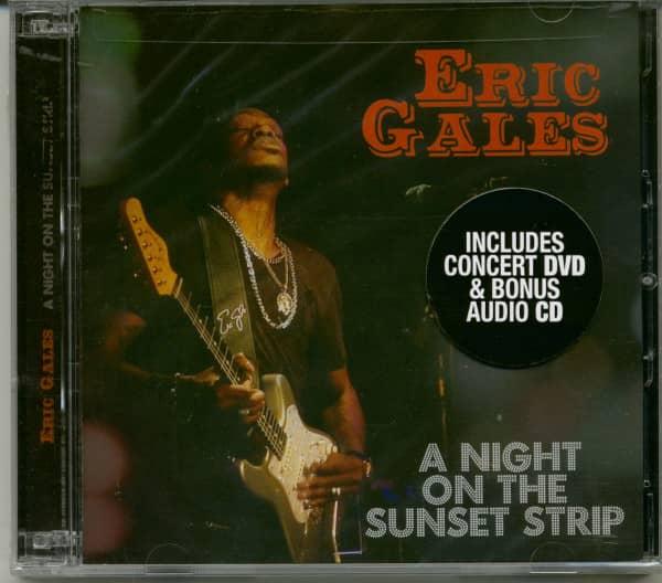 A Night On The Sunset Strip (CD,DVD)