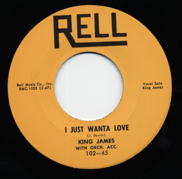 Wild Wooly Woman - I Just Wanta Love 7inch, 45rpm