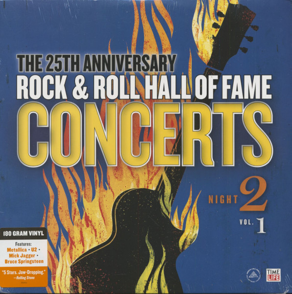 The 25th Anniversary Rock And Roll Hall Of Fame Concerts - Night 2, Vol.1 (LP)