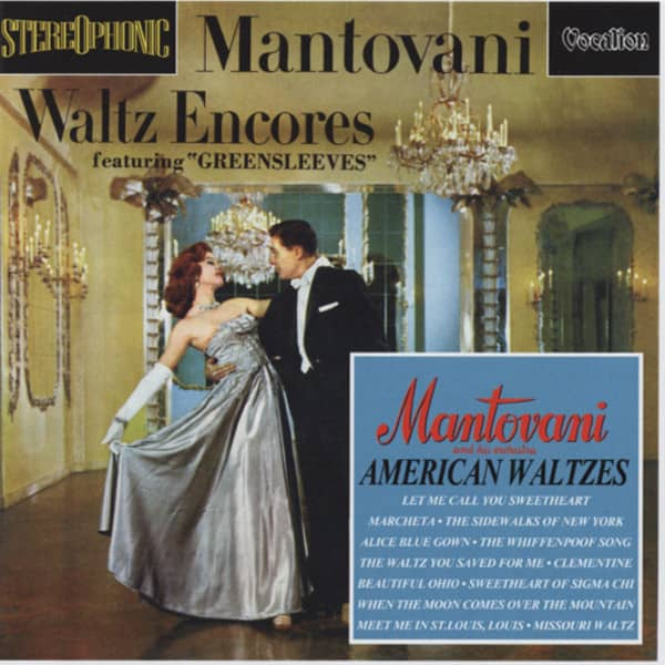 Mantovani Waltz Encore & American Waltzes