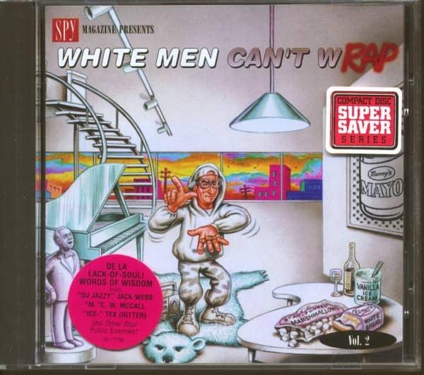 Spy Magazine Presents Vol.2 - White Men Can't Wrap (CD)