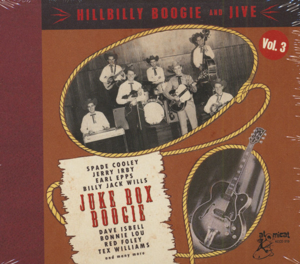 Hillbilly Boogie And Jive Vol.3 (CD)