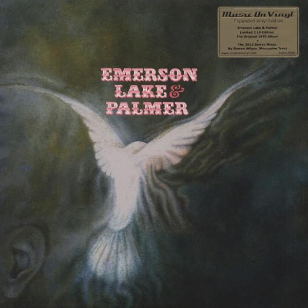 Emerson Lake & Palmer Emerson Lake & Palmer (1970) Deluxe 2-LP