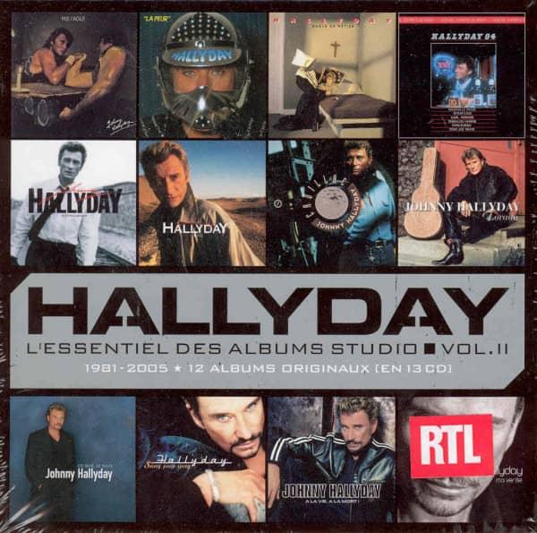 Hallyday, Johnny Studio Albums 1981-2005...plus (13-CD)