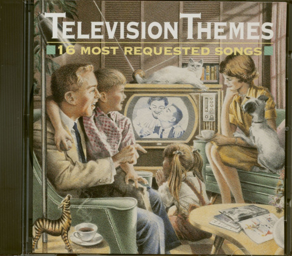Television Themes - 16 Most Requested Songs (CD)