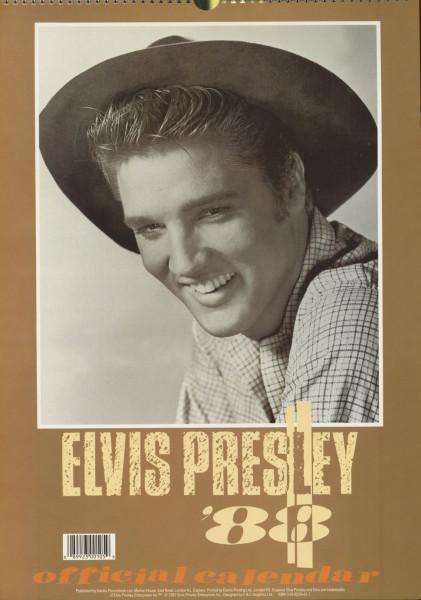 Elvis Presley - Official 1988 Calendar