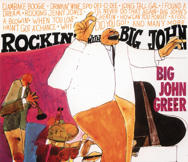 Greer, Big John Rockin' With Big John 3-CD