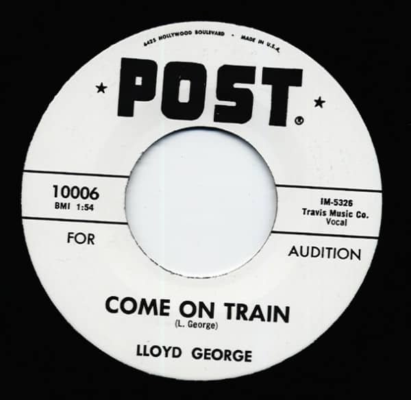 Come On Train b-w Frog Hunt 7inch, 45rpm