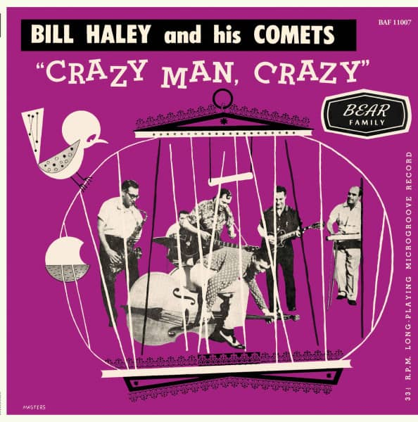 Crazy Man Crazy (LP, 10inch, Ltd.)