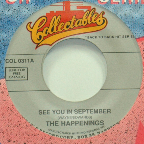 See You In September b-w Go Away Little Girl 7inch, 45rpm