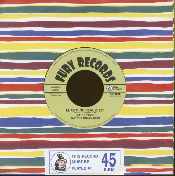 El Camino Real - Bring All Your Lovin' Back To Me (7inch, 45rpm, BC)
